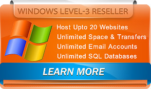 Windows Level3 Reseller Plan