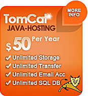 JAVA Tomcat Web Hosting